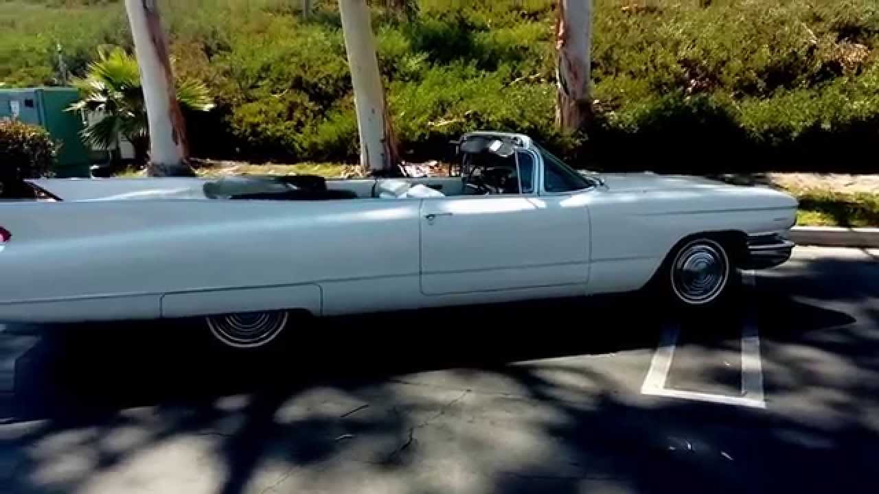 1960 cadillac series 62 convertible for sale youtube. Black Bedroom Furniture Sets. Home Design Ideas