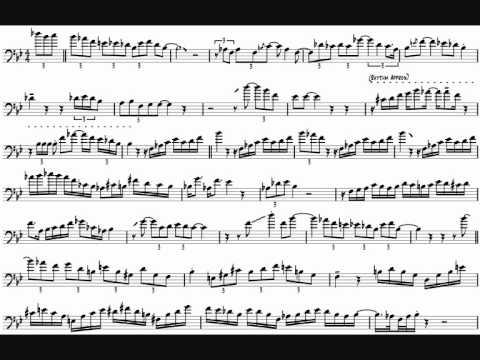 Michael Dease 'Blues On The Corner' Trombone Solo Transcription