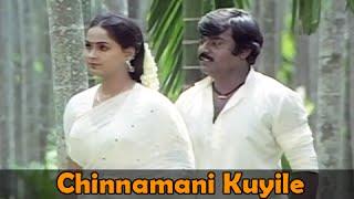 Chinnamani Kuyile - Vijaykanth, Radha - Amman Kovil Kizhakale - Super Hit Melodious Song