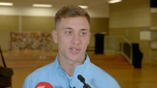 Alex Gersbach talks Socceroos and Norway