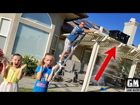 Game Master Drops Mystery Box on Our House!!! |