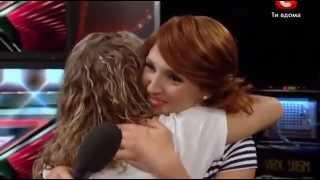 X-Factor 3 in Ukraine. Jeanne Peregon