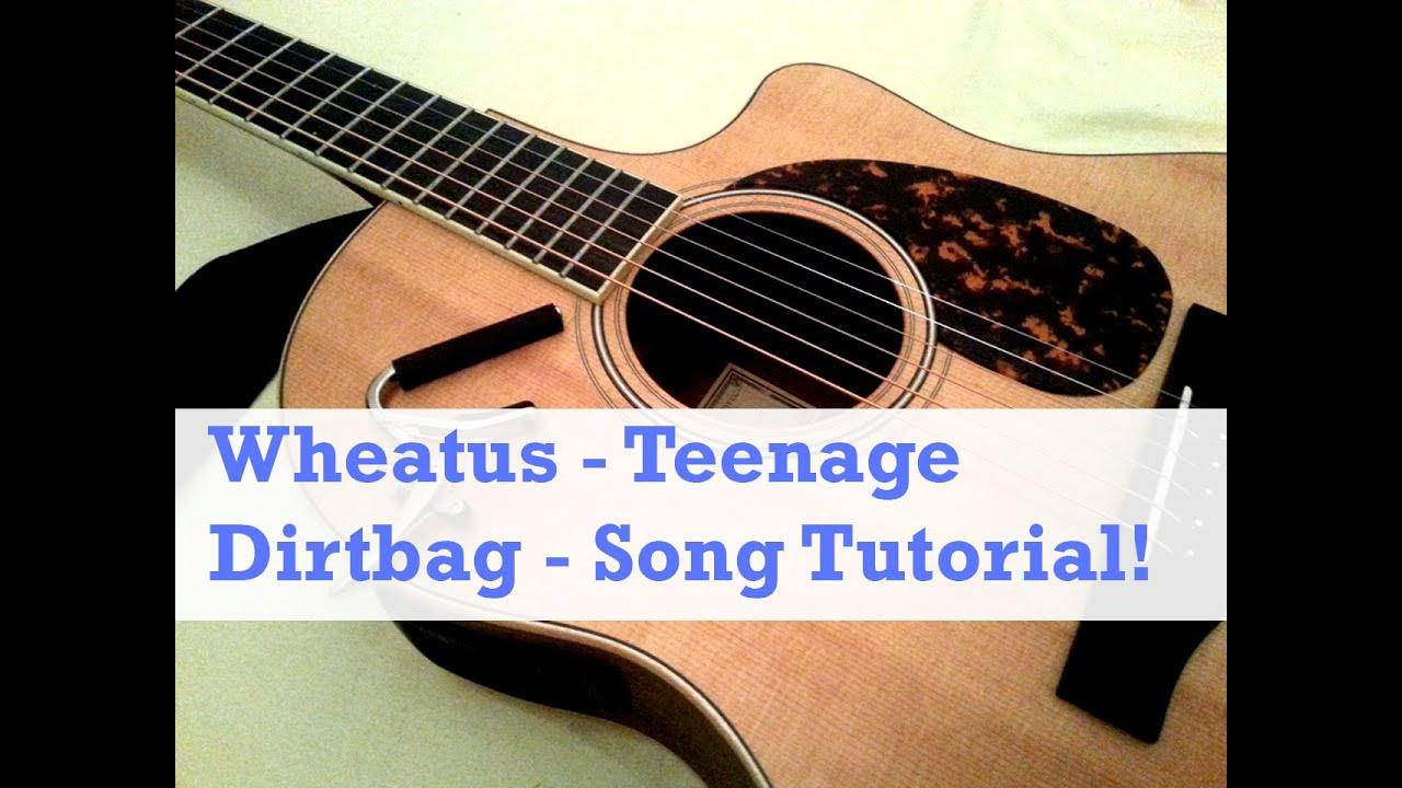 Guitar solo tab] teenage dirtbag (wheatus) youtube.