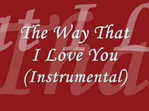 Ashanti - The Way That I Love You (Instrumental)