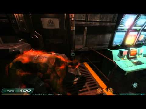Doom 3: RoE Walkthrough Part 9 HD - Phobos Labs - Sector 3: Main Reactor