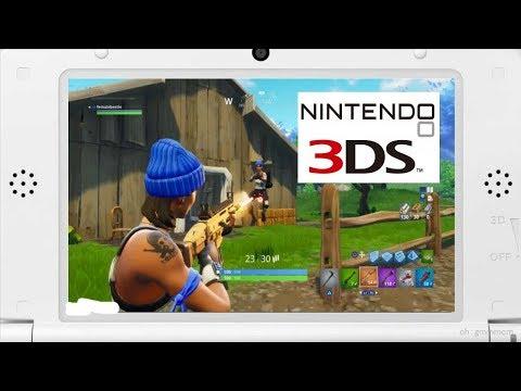 3DS版フォートナイトがあるらしい。