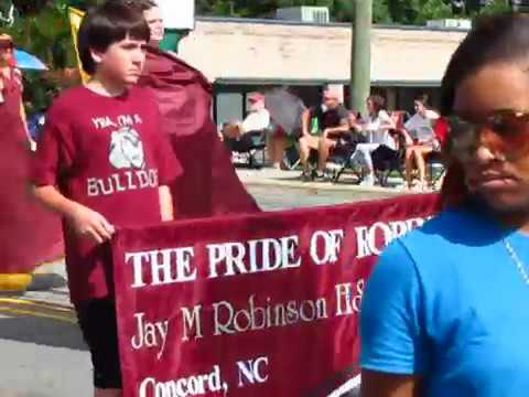 Harrisburg, NC July 4 2017 Parade with Jay M. Robinson High School Marching Band (#1 of 14)