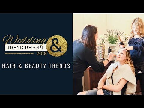 Wedding Hair and Beauty Trends with Claire Jones Make Up Artist and Brides in France - Part 1