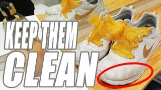 How To Clean White Sneakers | Nike / Converse / Vans /Adidas +++