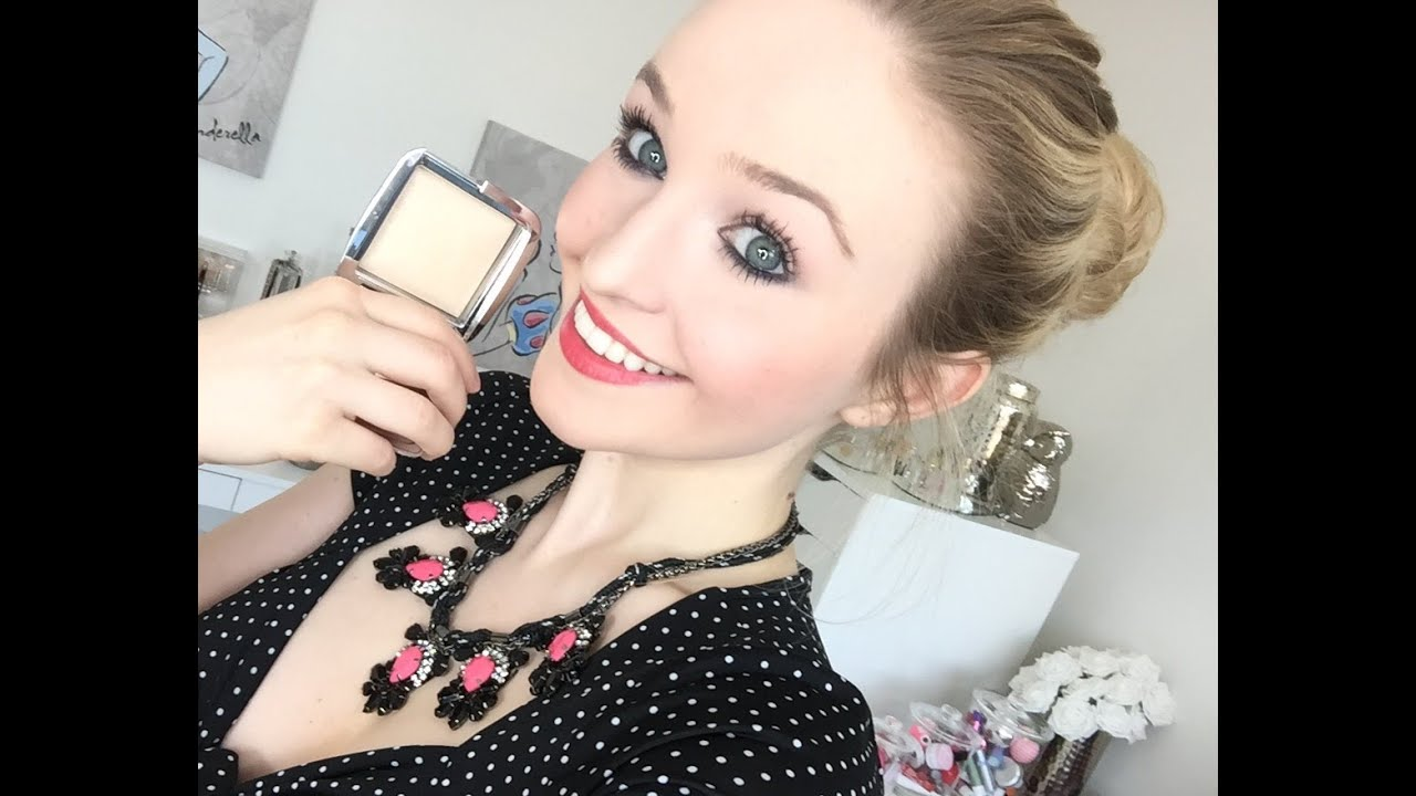 Hourglass   Ambient Strobe Lighting Powder Review!   YouTube