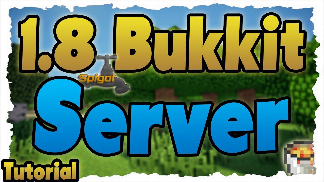 MINECRAFT BukkitSpigot Server Erstellen Tutorial Server - Minecraft server erstellen 1 8 spigot