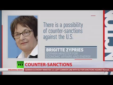 Thumbnail: 'Counter-sanctions possible, trade war between EU & US would be very bad' - German economy minister