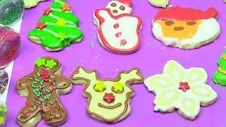 Trang Trí Bánh Cookie Giáng Sinh Cùng Chị Bí Đỏ - ĐỒ CHƠI TRẺ EM - Kênh Chị Bí Đỏ