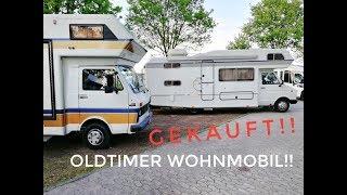 Oldtimer Wohnmobil gekauft! Dr. Camp beim 6. Clou Treffen in Polch