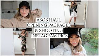 WEEKLY VLOG - ASOS HAUL, OPENING PACKAGES & INSTAGRAM PICTURES | MODEL MOUTH