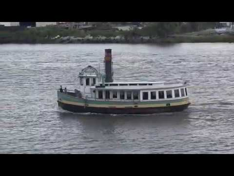 Savannah, Georgia - Ferry on the Savannah River HD (2017)