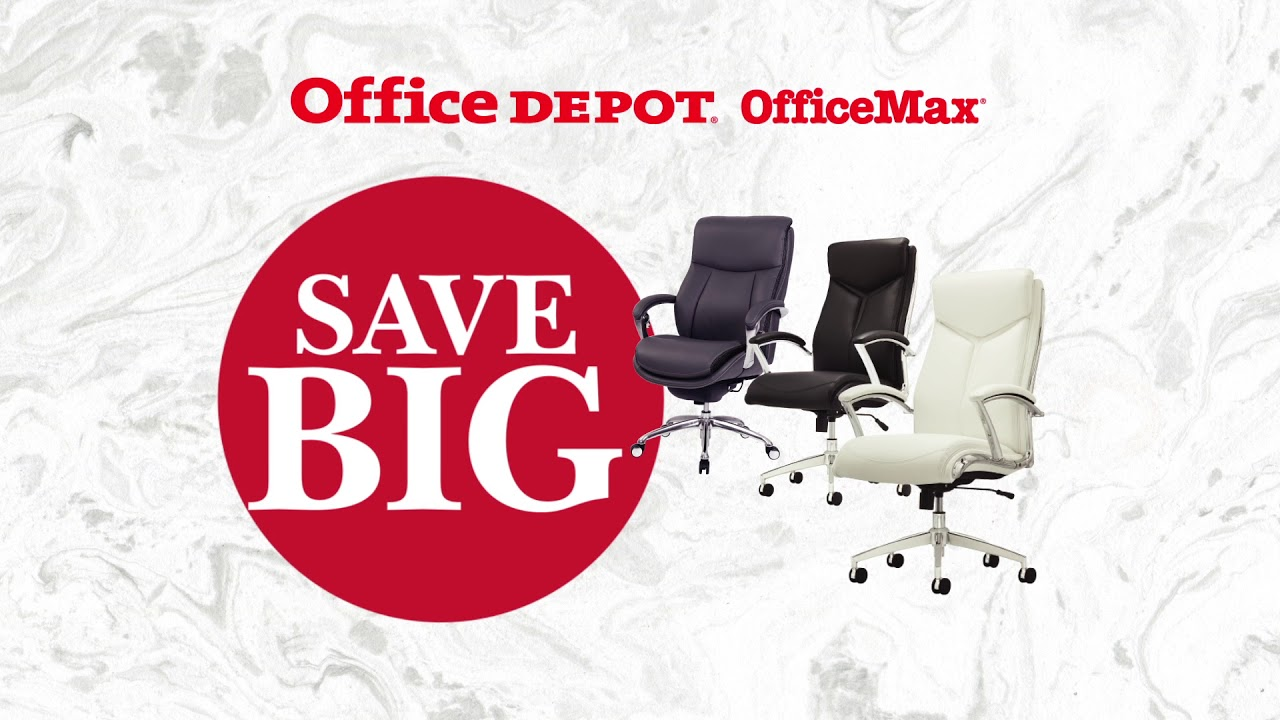 Office Chairs At Depot Comfortable Desk February Seating Deal Officemax Youtube