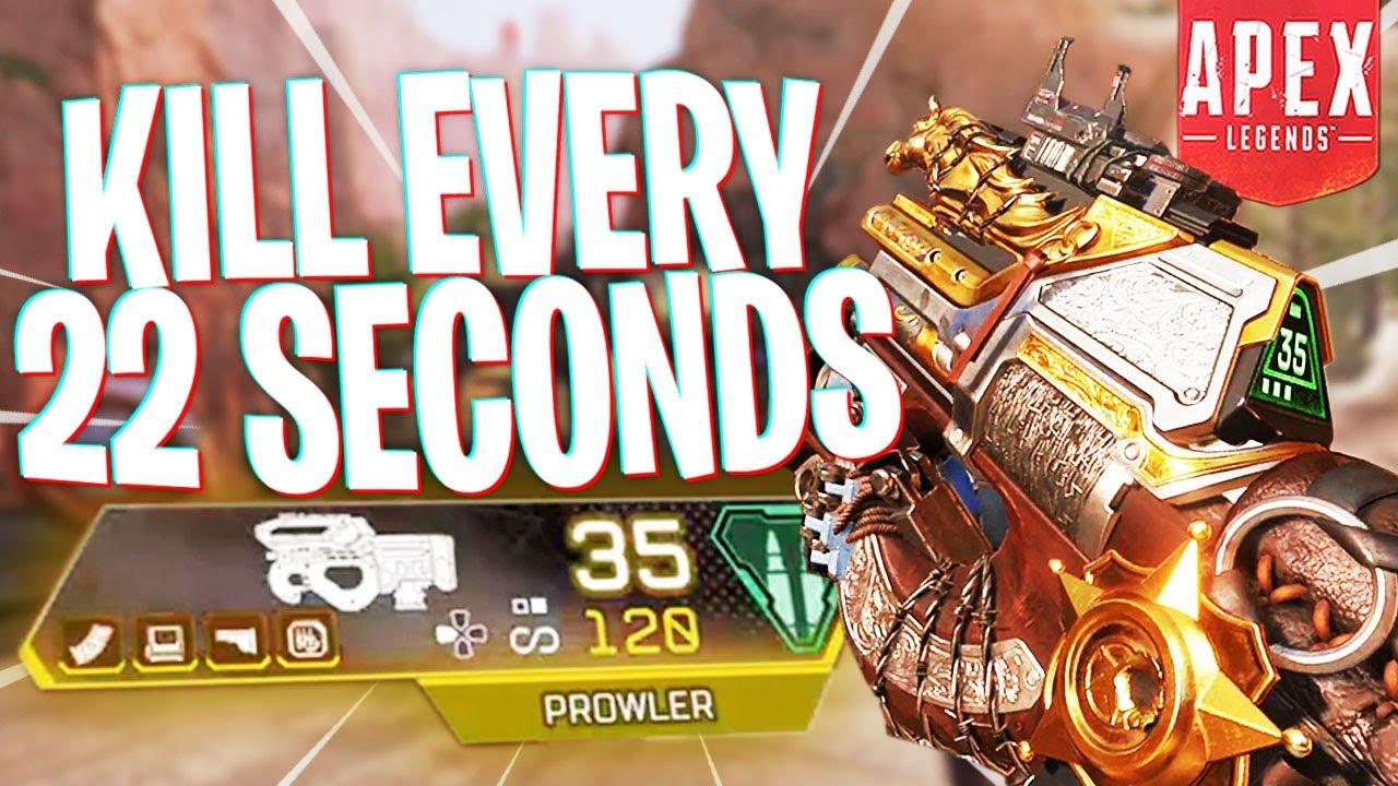We Got a Kill Every 22 Seconds... - PS4 Apex Legends
