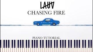 Lauv - Chasing Fire (Piano Tutorial + Sheets)
