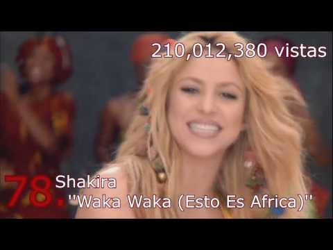 Top 100 Canciones En Español Mas Vistas En Youtube