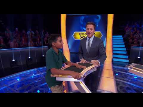 Whiz Kid Shiva Oswal's Historic Journey to $250,000 on Who Wants to be a Millionaire, Nov 2017