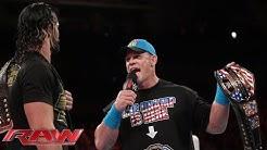 John Cena interrupts Seth Rollins: Raw, July 20, 2015
