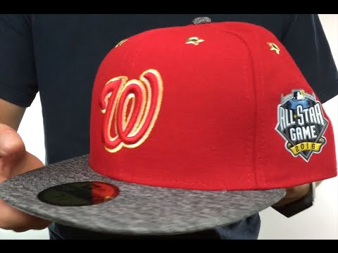 1965bcbd9ab Nationals  2016 MLB ALL-STAR GAME  Fitted Hat by New Era - YouTube