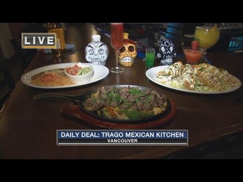 Fox 12 Daily Deal at Trago Mexican Kitchen - YouTube