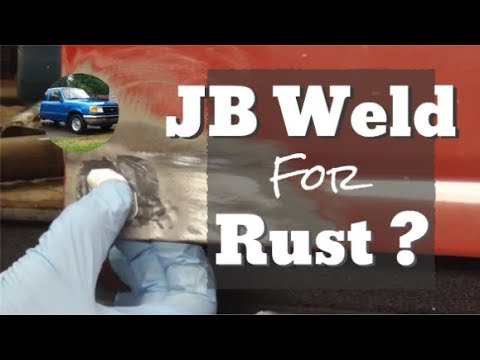 Using JB Weld To Fix Rust Holes?