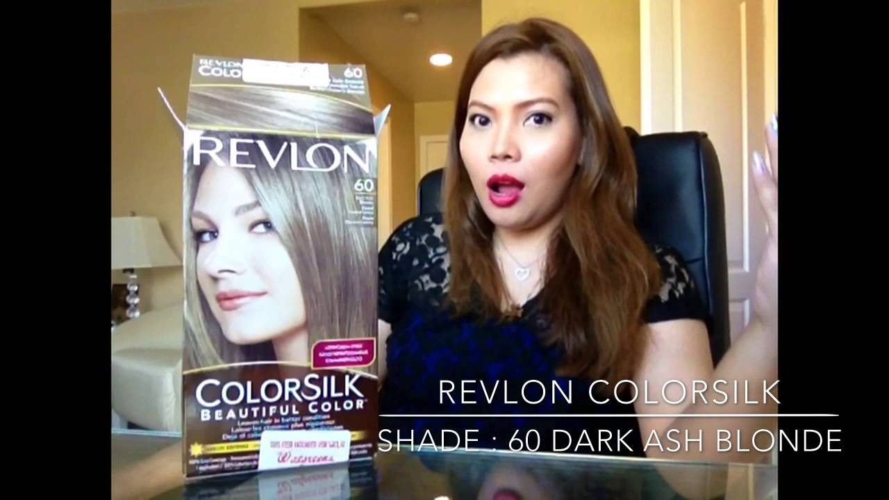 Revlon Colorsilk Hair Color Youtube