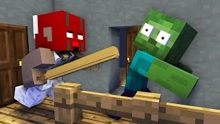 - Monster School GRANNY VS MOBS HORROR CHALLENGE Minecraft Animation