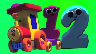 Ben Nummer Zug in Candyland | Nummer Lied | Zahlen lernen | Kids Songs | Learn Number | Ben Train