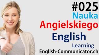 #25 Kurs języka angielskiego Słownictwo English Chorzów Kraków Pabianice Świętochłowice IELTS