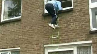 Fire Escape Safety Ladder Demo