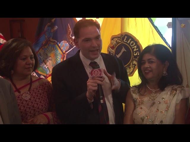 "Indo American Lions Club Commemorates ""Charter Night"" - Long Island - New York"