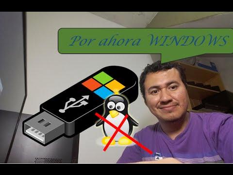 Como Hacer Un USB Booteable Para Windows 7 8 10 Sin Programas Y Rapido