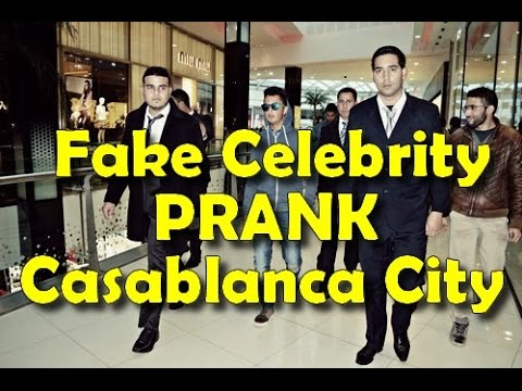 Fake Celebrity Prank Casablanca City [Morocco]