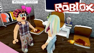 Bloxburg Roleplay Escaping Evil Grandmas House! Roblox Obby - Titi Games