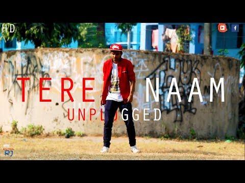 Tere Naam  | Lyrical Dance Cover | Unplugged Version - Vicky Singh | BeatFeeL RJ