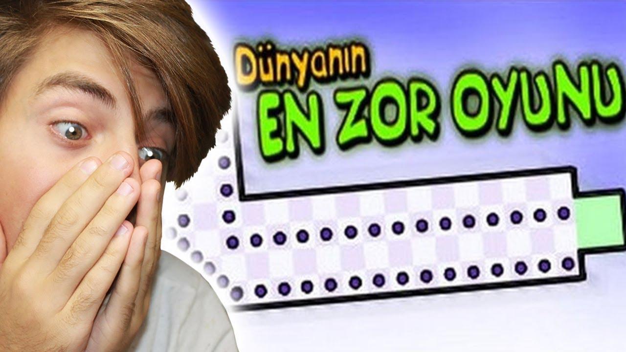Dunyanin En Zor Oyununu Hic Yanmadan Bitirmek Youtube