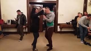 Бачата урок 13 - Bachata dance move Advanced