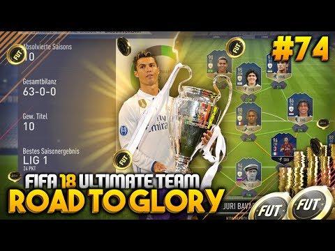 Liga 10 bis Liga 1 OHNE NIEDERLAGE!! 63-0-0 Challenge ✅ #74 🔥💰 - FIFA 18 Road to Glory [DEUTSCH]