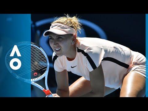 Ons Jabeur v Elena Vesnina match highlights (1R) | Australian Open 2018