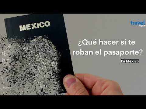 ¿Qué hacer si te robaron el pasaporte?