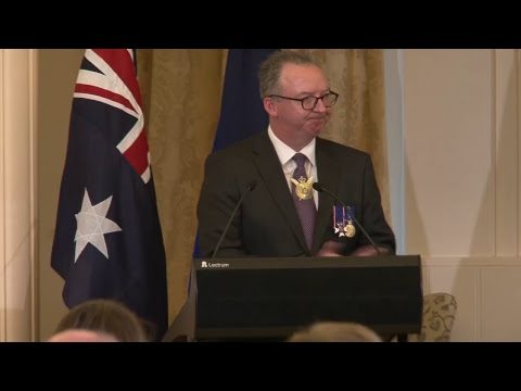 Afternoon Investiture: 2017 Autumn Investiture Ceremonies at Government House, Canberra.