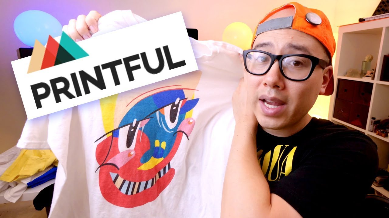 PRINTFUL REVIEW PT  1 ✨ Best Shirt Printer & Dropshipping for Shopify,  Etsy? [PROS & CONS] 4K