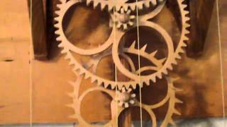 Simplicity, My Wooden Gear Clock