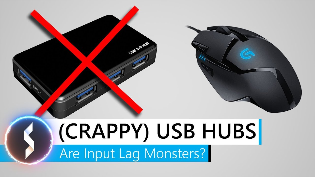 USB Hubs Are Input Lag Monsters?