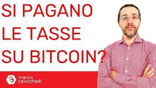 pagano le tasse con bitcoin
