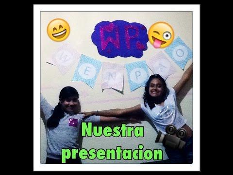 nuestra presentacion 😬😜